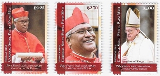 Tonga First Cardinal Stamp Issue
